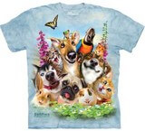 T-shirts Animaux Chiens Chats Lapin