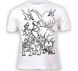 T-shirts Animaux Coloriage Dinosaures enfant