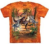 T-shirts Dino Bataille Dinosaures