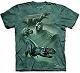 T-shirts Dino Dinosaures T-Rex