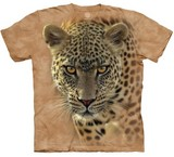 T-shirts Animaux Félins Léopard chasse