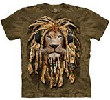 T-shirts Félins Lion Manimals