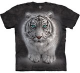 T-shirts Animaux Félins Tigre blanc sauvage