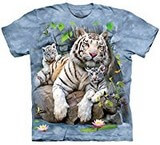T-shirts Animaux Félins Tigres Bengale