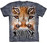 T-shirts Animaux Félins Totem