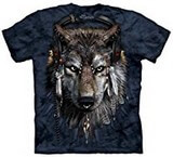 T-shirts Animaux sauvages Loup DJ