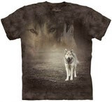 T-shirts Animaux sauvages Loup Foret