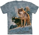 T-shirts Animaux sauvages Loups Chasse