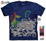 T-shirts Animaux Mer Baleine Coloriage