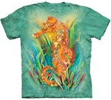T-shirts Animaux Mer Hippocampe