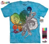 T-shirts Animaux Mer Pieuvre Coloriage