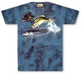 T-shirts Animaux Mer Poissons