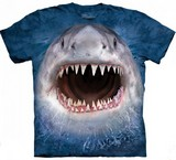T-shirts Animaux Mer Requin dents