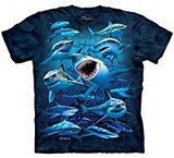 T-shirts Animaux Mer Requins