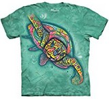 T-shirts Animaux Mer Tortue Dessin