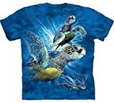 T-shirts Animaux Mer 9 Tortues
