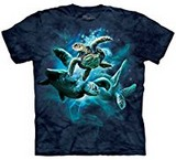 T-shirts Animaux Mer Tortues Eau