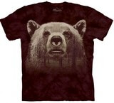 T-shirts Animaux Ours Tête