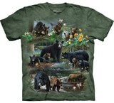 T-shirts Animaux Ours Groupe