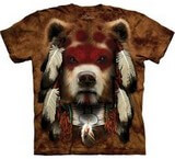 T-shirts Animaux Ours indien