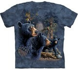 T-shirts Animaux Ours noirs