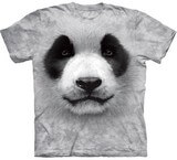 T-shirts Animaux Ours Panda