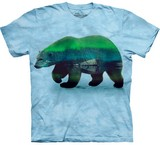 T-shirts Animaux Ours polaire Aurora