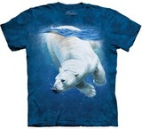 T-shirts Animaux Ours polaire Eau
