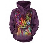 Sweat Animaux Chat Abyssin Russo