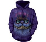 Sweat Animaux Chat Cheshire