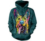 Sweat Animaux Chien Berger allemand Russo