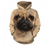 Sweat Animaux Chien Carlin