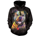 Sweat Animaux Chien Pitbull