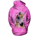 Sweat Animaux Cheval Licorne