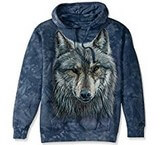 Sweat Animaux Loup gris