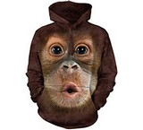Sweat Animaux Singe Orang-Outan