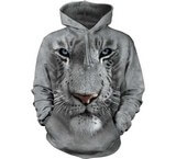 Sweat Animaux Tigre blanc